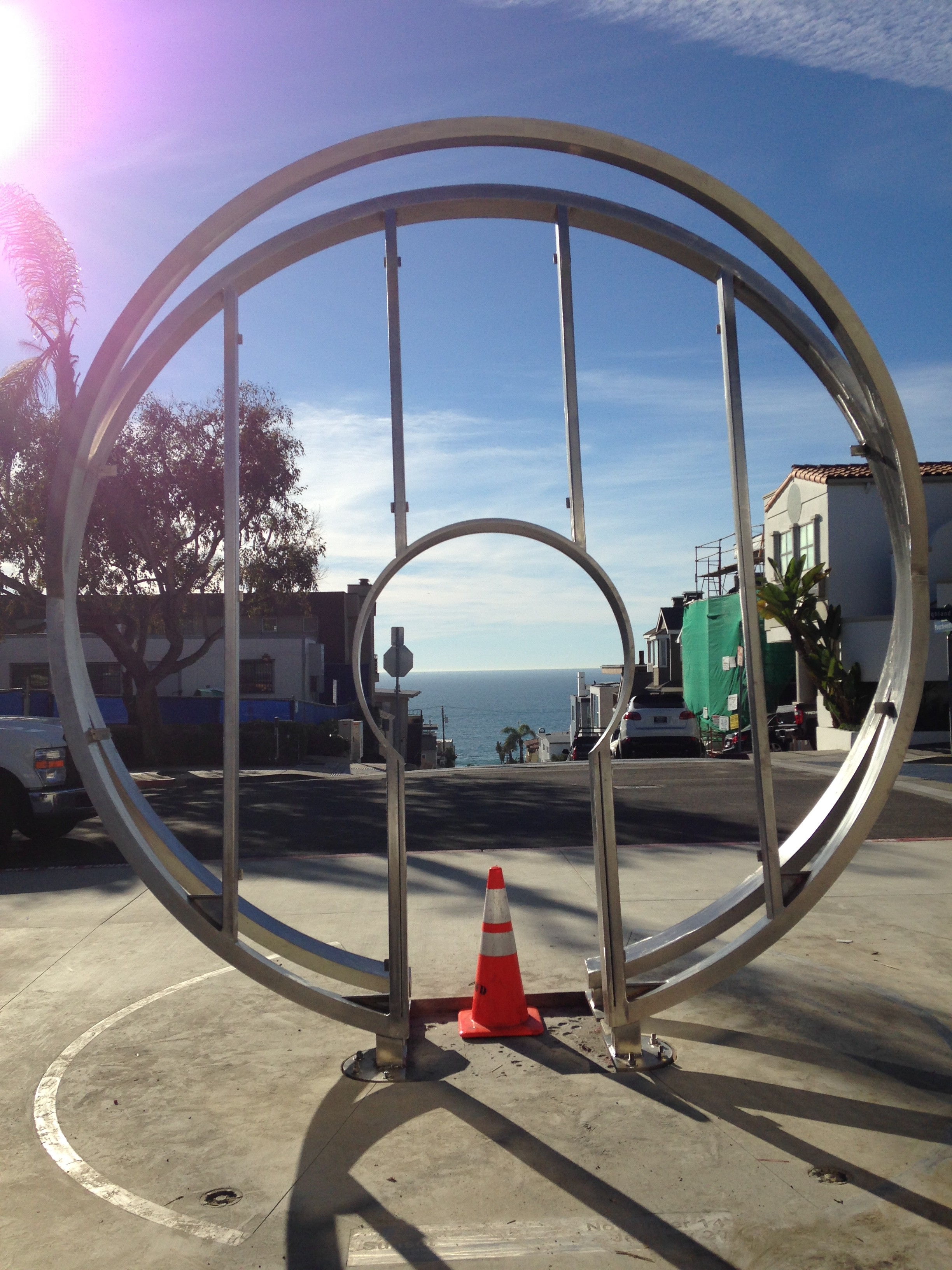 Harries/Héder Public Art Manhattan Beach CA 2015 Install